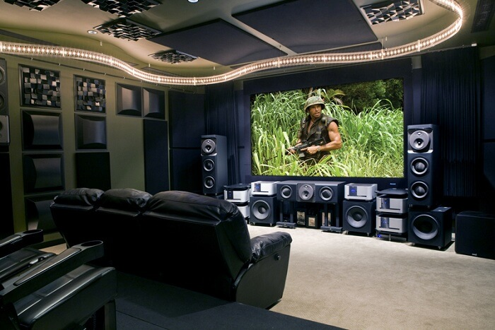 decorate home theater